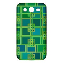 Green Abstract Geometric Samsung Galaxy Mega 5 8 I9152 Hardshell Case  by BangZart