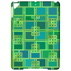 Green Abstract Geometric Apple Ipad Pro 9 7   Hardshell Case by BangZart