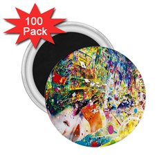 Multicolor Anime Colors Colorful 2 25  Magnets (100 Pack)  by BangZart