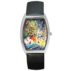Multicolor Anime Colors Colorful Barrel Style Metal Watch by BangZart
