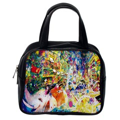 Multicolor Anime Colors Colorful Classic Handbags (one Side) by BangZart