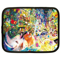 Multicolor Anime Colors Colorful Netbook Case (xxl)