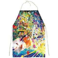 Multicolor Anime Colors Colorful Full Print Aprons by BangZart