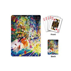 Multicolor Anime Colors Colorful Playing Cards (mini)  by BangZart