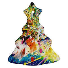 Multicolor Anime Colors Colorful Ornament (christmas Tree)  by BangZart
