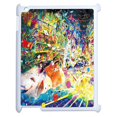 Multicolor Anime Colors Colorful Apple Ipad 2 Case (white) by BangZart