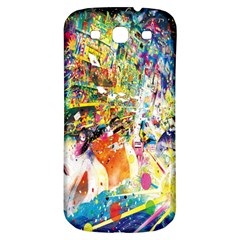 Multicolor Anime Colors Colorful Samsung Galaxy S3 S Iii Classic Hardshell Back Case by BangZart