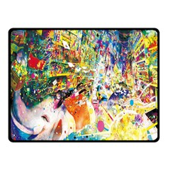Multicolor Anime Colors Colorful Double Sided Fleece Blanket (small)  by BangZart