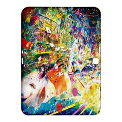 Multicolor Anime Colors Colorful Samsung Galaxy Tab 4 (10 1 ) Hardshell Case