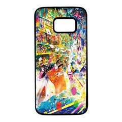 Multicolor Anime Colors Colorful Samsung Galaxy S7 Black Seamless Case by BangZart