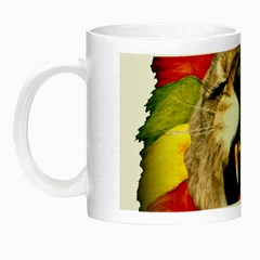 Reggae Lion Night Luminous Mugs by BangZart