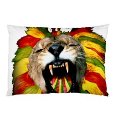 Reggae Lion Pillow Case by BangZart