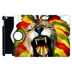 Reggae Lion Apple Ipad 3/4 Flip 360 Case by BangZart