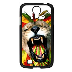 Reggae Lion Samsung Galaxy S4 I9500/ I9505 Case (black) by BangZart