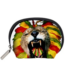 Reggae Lion Accessory Pouches (small)  by BangZart