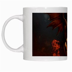Angels Wings Curious Hell Heaven White Mugs by BangZart
