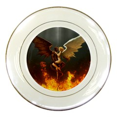 Angels Wings Curious Hell Heaven Porcelain Plates by BangZart