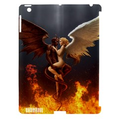 Angels Wings Curious Hell Heaven Apple Ipad 3/4 Hardshell Case (compatible With Smart Cover) by BangZart