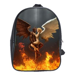 Angels Wings Curious Hell Heaven School Bags (xl)  by BangZart