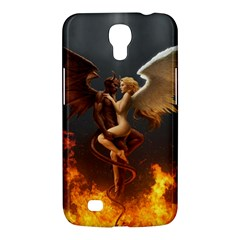 Angels Wings Curious Hell Heaven Samsung Galaxy Mega 6 3  I9200 Hardshell Case by BangZart