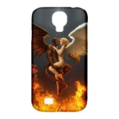 Angels Wings Curious Hell Heaven Samsung Galaxy S4 Classic Hardshell Case (pc+silicone) by BangZart