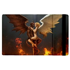 Angels Wings Curious Hell Heaven Apple Ipad Pro 9 7   Flip Case by BangZart