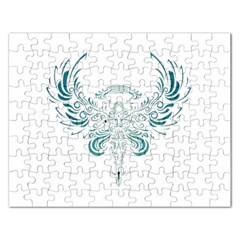 Angel Tribal Art Rectangular Jigsaw Puzzl by BangZart