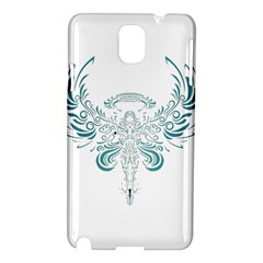 Angel Tribal Art Samsung Galaxy Note 3 N9005 Hardshell Case by BangZart