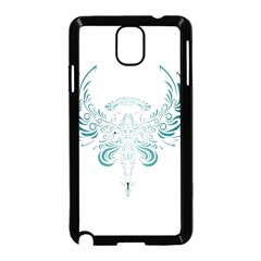 Angel Tribal Art Samsung Galaxy Note 3 Neo Hardshell Case (black) by BangZart