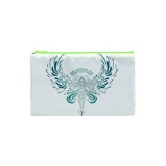 Angel Tribal Art Cosmetic Bag (xs)