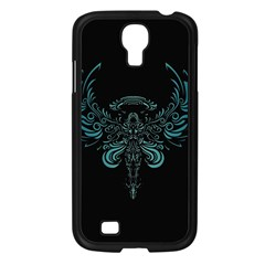 Angel Tribal Art Samsung Galaxy S4 I9500/ I9505 Case (black) by BangZart