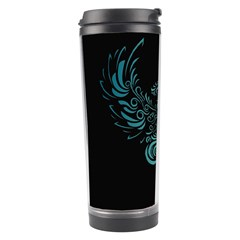 Angel Tribal Art Travel Tumbler by BangZart