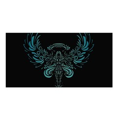 Angel Tribal Art Satin Shawl by BangZart