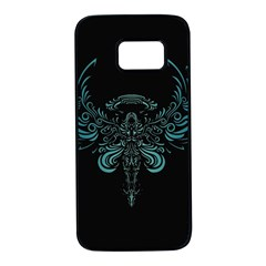 Angel Tribal Art Samsung Galaxy S7 Black Seamless Case by BangZart