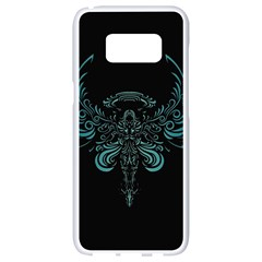 Angel Tribal Art Samsung Galaxy S8 White Seamless Case