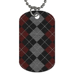 Wool Texture With Great Pattern Dog Tag (two Sides) by BangZart