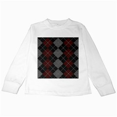 Wool Texture With Great Pattern Kids Long Sleeve T Shirts by BangZart