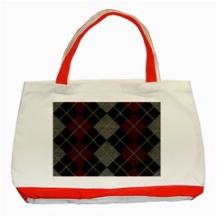 Wool Texture With Great Pattern Classic Tote Bag (red) by BangZart
