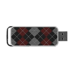 Wool Texture With Great Pattern Portable Usb Flash (two Sides) by BangZart