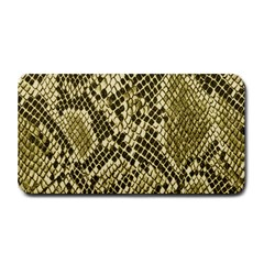 Yellow Snake Skin Pattern Medium Bar Mats by BangZart