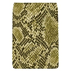 Yellow Snake Skin Pattern Flap Covers (s)  by BangZart