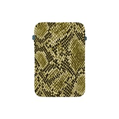 Yellow Snake Skin Pattern Apple Ipad Mini Protective Soft Cases by BangZart