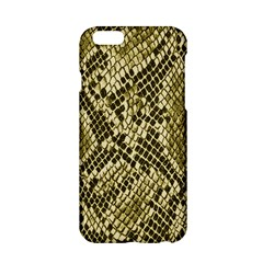Yellow Snake Skin Pattern Apple Iphone 6/6s Hardshell Case by BangZart