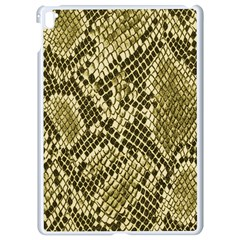 Yellow Snake Skin Pattern Apple Ipad Pro 9 7   White Seamless Case by BangZart