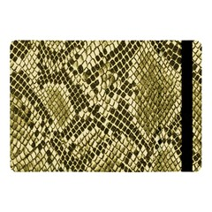 Yellow Snake Skin Pattern Apple Ipad Pro 10 5   Flip Case by BangZart