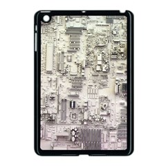White Technology Circuit Board Electronic Computer Apple Ipad Mini Case (black) by BangZart