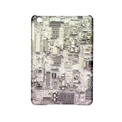 White Technology Circuit Board Electronic Computer Ipad Mini 2 Hardshell Cases by BangZart