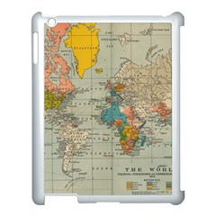 Vintage World Map Apple Ipad 3/4 Case (white)