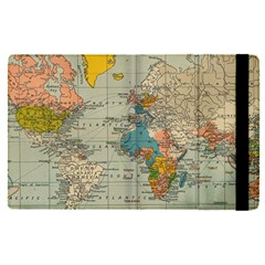 Vintage World Map Apple Ipad Pro 9 7   Flip Case