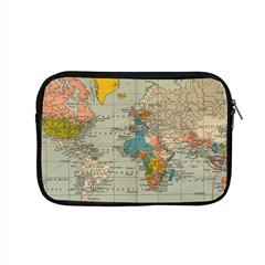 Vintage World Map Apple Macbook Pro 15  Zipper Case